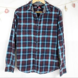 Quicksilver Every Dwy Flannel Small.          M007